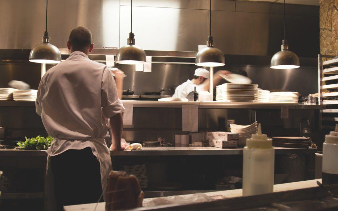 Wyposażenie nowoczesnej restauracji